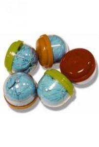 Бахилы в капсулах 44 мм, синие (код 6063)