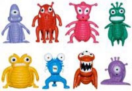 BUGACV Фигурки инопланетных насекомых в капсуле Ø28мм
