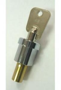 Комплект замка с цилиндрическим ключом (верхний)
