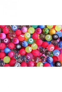 """(MIX 25/ 39)Мячи """"Звездное небо"""". Новый микс."""