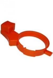 Пластиковый оранжевый регулятор
