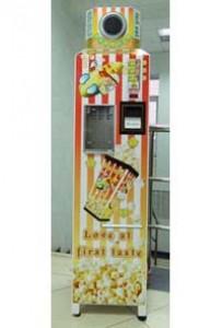 Автомат для приготовления и продажи поп корна